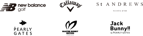 new balance golf ONLINE STORE・CALLAWAY APPAREL ONLINE STORE・PEARLY GATES ONLINE SHOP